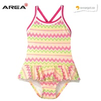 ESCARGOT COPACABANA CROSS BACK GIRLS ONE PIECE SWIMWEAR, CHILDREN'S SWIMWEAR