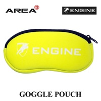 ENGINE GOGGLE POUCH YELLOW, GOGGLE CASE, SWIMMING GOGGLE CASE