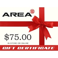 Area13 $75.00 Gift Certificate