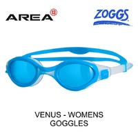 ZOGGS WOMEN'S VENUS SWIMMING GOGGLES, LIGHT BLUE