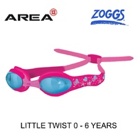 ZOGGS LITTLE TWIST SWIMMING GOGGLES PINK 0 - 6  YEARS, CHILDREN'S SWIMMING GOGGLES
