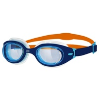 ZOGGS SONIC AIR JUNIOR CHILDREN'S SWIMMING GOGGLES 6 - 14 YEAR, NAVY & ORANGE