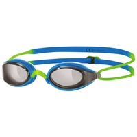 ZOGGS SWIMMING GOGGLES FUSION AIR JUNIOR, BLUE & GREEN, CHILDRENS GOGGLES