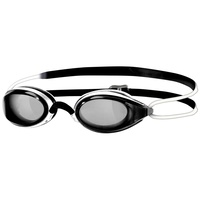 ZOGGS SWIMMING GOGGLES FUSION AIR JUNIOR, BLACK & WHITE, CHILDRENS GOGGLES
