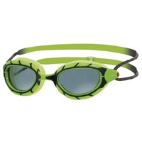 ZOGGS PREDATOR JUNIOR SWIMMING GOGGLES 6 - 14 YEARS , GREEN & BLACK, SWIMMING GOGGLES