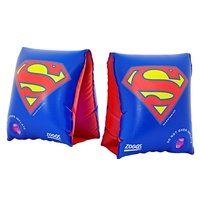 ZOGGS SUPERMAN ARMBANDS 1 - 6 YEARS, CHILDREN'S POOL FLOATIES, SWIM ARM BANDS