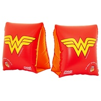 ZOGGS WONDER WOMAN ARMBANDS 1 - 6 YEARS, CHILDREN'S POOL FLOATIES, SWIM ARM BANDS