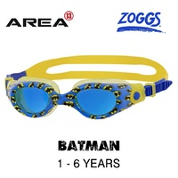 ZOGGS DC Super Heroes BATMAN Printed Goggles 1 - 6  YEARS, CHILDREN'S SWIMMING GOGGLES