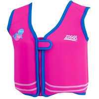 ZOGGS BOBIN SWIM JACKET PINK & BLUE, CHILDRENS SWIM VEST, LEARN TO SWIM