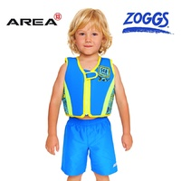 ZOGGS DEEP SEA SWIM JACKET BLUE & GREEN, CHILDRENS SWIM VEST, LEARN TO SWIM