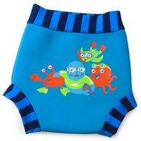 ZOGGS SWIM SURE NAPPY - BLUE , BABY SWIMWEAR - SWIM NAPPY