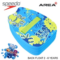 SPEEDO SEA SQUAD BACK FLOAT BLUE, CHILDREN'S POOL FLOATIES, LEARN TO SWIM