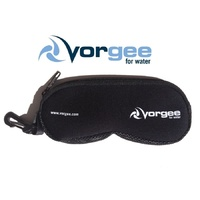 VORGEE GOGGLE POUCH BLACK, GOGGLE BAG, SWIMMING GOGGLES BAG