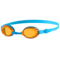 SPEEDO JUNIOR JET BLUE / ORANGE, 6 - 14 YEARS SWIMMING GOGGLES, CHILDREN'S GOGGLES