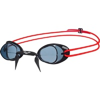 ARENA SWEDIX RACING SWIMMING GOGGLES, SMOKE / RED,  SWEDISH RACING GOGGLES