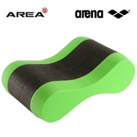 ARENA FREEFLOW PULLBUOY ACID LIME/BLACK, SWIMMING PULL BUOY, TRAINING PULL BUOY