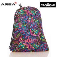AMANZI CANDY PUZZLE MESH SWIM BAG, MESH SWIMMING BAG