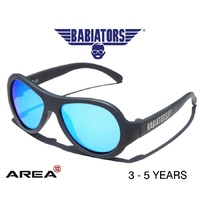 BABIATORS AVIATOR SUNGLASSES, LIMITED EDITION,Blue Steel 3 - 5 YEARS, KIDS SUNGLASSES