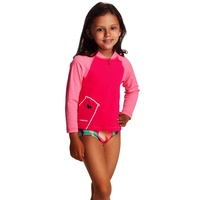 FUNKITA STARE BEAR ZIPPY RASH VEST  TODDLER GIRLS , FUNKITA SUN TOP