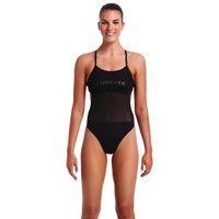 FUNKITA NIGHT LIGHTS MESH UP ONE PIECE WOMEN'S SWIMWEAR
