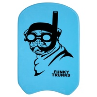 FUNKY TRUNKS SNORKEL PUG KICKBOARD, SWIMMING KICKBOARD