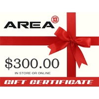 Area13 $300.00 Gift Certificate