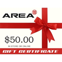 Area13 $50.00 Gift Certificate