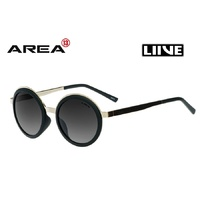 LIIVE VISION SUNGLASSES- ANNA - GOLD MATT BLACK - LIVE SUNGLASSES