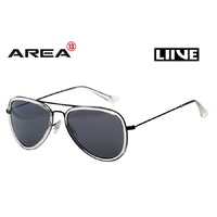 LIIVE VISION SUNGLASSES - ALI - BLACK REFLECTIVE  - LIVE SUNGLASSES
