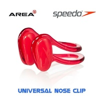 SPEEDO UNIVERSAL NOSE CLIP RED, SWIMMING NOSE CLIP, AQUATIC NOSE PLUGS