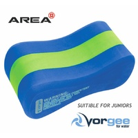 VORGEE JUNIOR PULL BUOY GREEN & BLUE, SWIMMING PULL BUOY, 3 LAYER PULL BUOY