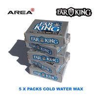 FAR KING SURF WAX COLD WATER, SURFBOARD WAX, SURFING WAX, PADDLE BOARD WAX
