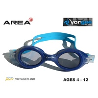 VORGEE VOYAGER JUNIOR SWIMMING GOGGLES, TWO BLUES, CHILDREN'S SWIMMING GOGGLES