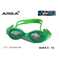 VORGEE VOYAGER JUNIOR SWIMMING GOGGLES, GREEN, CHILDREN'S SWIMMING GOGGLES