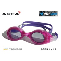 VORGEE VOYAGER JUNIOR SWIMMING GOGGLES, PINK PURPLE, CHILDREN'S SWIMMING GOGGLES