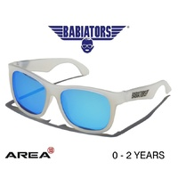 BABIATORS NAVIGATOR SUNGLASSES, LIMITED EDITION, Blue Ice 0 - 2 YEARS, KIDS SUNGLASSES