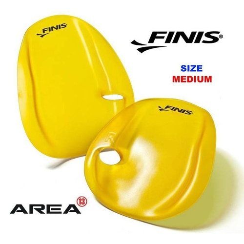 FINIS AGILITY HAND PADDLES SIZE MEDIUM SWIMMING HAND PADDLES, SWIMMING PADDLES,