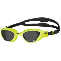 ARENA THE ONE SWIMMING GOGGLES, LIME / SMOKE LENS