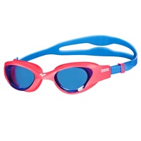 ARENA THE ONE JUNIOR SWIMMING GOGGLES, RED / BLUE LENS