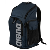 Arena Navy Melange 45L Team Backpack, Swimming Backpack