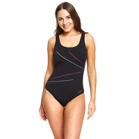 Zoggs Women's Macmaster Scoopback, One Piece Swimwear