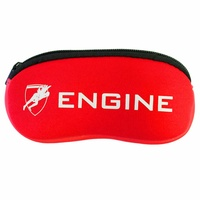 Engine Goggle Pouch Red, Goggle Case, Swimming Goggle Case