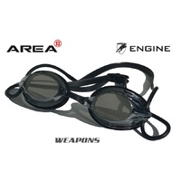 ENGINE WEAPON CLASSIC BLACK SWIMMING GOGGLES, , SWIMMING GOGGLES