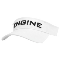 ENGINE VISOR WHITE, SPORTS VISOR , SUN VISOR, ENGINE SWIM