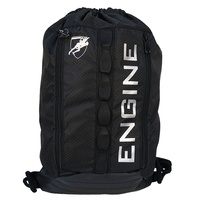 Engine Swim Draw Backpack - Black - Swim Bag, Swimming Training Bag, Swimming backpack