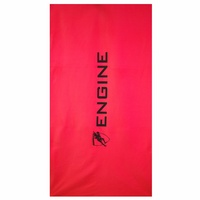 ENGINE MICROFIBER TOWEL RED, SWIMMING TOWEL, CHAMOIS TOWEL, QUICK DRY TOWEL