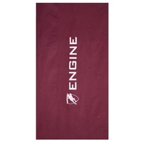 ENGINE MICROFIBER TOWEL MAROON, SWIMMING TOWEL, CHAMOIS TOWEL, QUICK DRY TOWEL