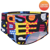 SPEEDO MEN'S MASH UP LIMITED EDITION ENDURANCE 12cm BRIEF SWIMWEAR, MEN'S SWIMWEAR