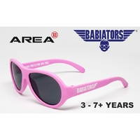 BABIATORS SUNGLASSES, AVIATOR CHILDREN'S SUNGLASSES, PRINCESS PINK CLASSIC 3 - 5+ YEARS, KIDS SUNGLASSES