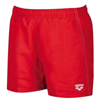 ARENA BOYS FUNDAMENTALS JR BOXER RED-WHITE ,BOYS SWIMWEAR, BOYS SHORTS